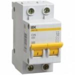 Автоматический выключатель ВА47-29 2Р 63А 4,5кА х-ка С ИЭК (MVA20-2-063-C)